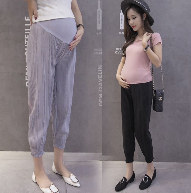 X82201A guangzhou wholesale custom maternity pants clothes for pregnant women
