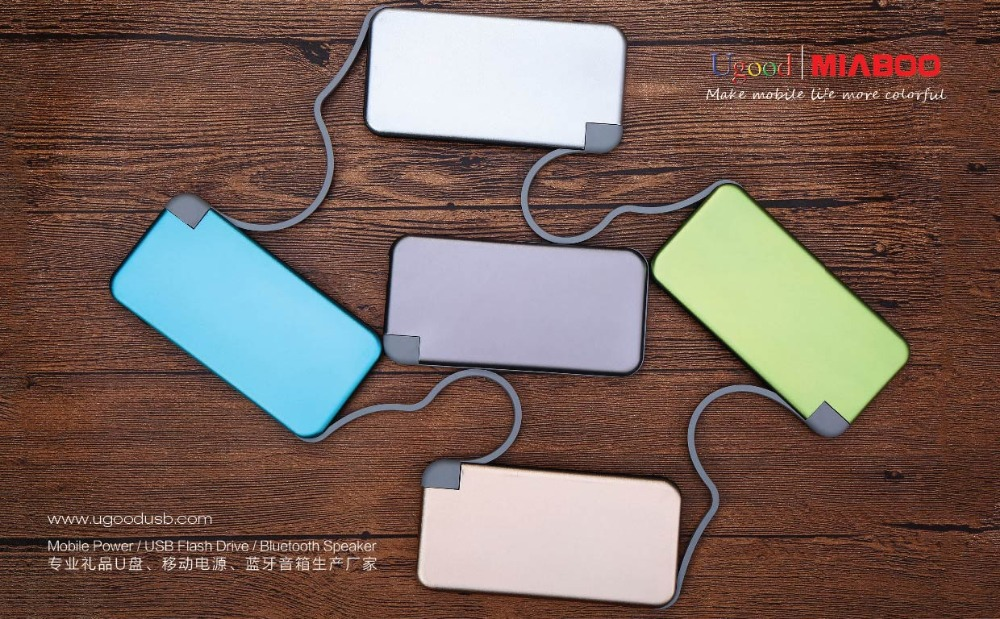 Beauty 3000 mAh External Polymer USB Portable Charger Slim Power Bank, mini portable mobile power bank,power banks high quality