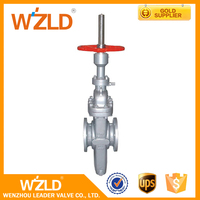 WZLD High Quality Forged UL FM Approved Class 600 Flanged ASME B16.25 Slab Gate Valve