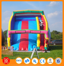 Top selling 0.9mm PVC or TPU material large inflatable pool slide