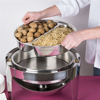 restaurant equipment kitchen food warmer indian brass chafing dish