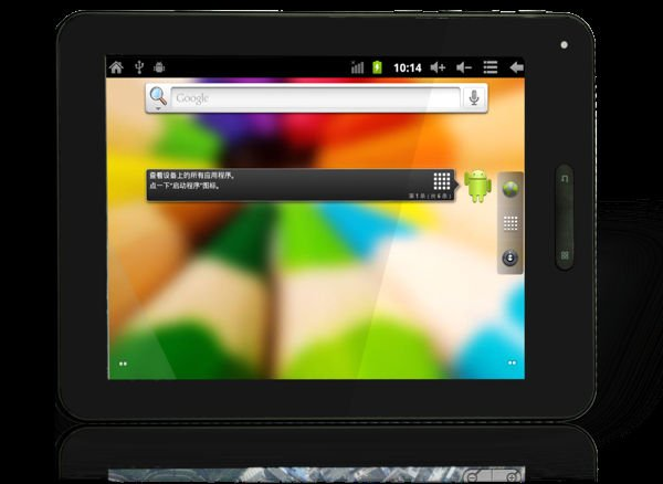 8'' MULTI TOUCH PAD WITH ANDROID 4.0 (YT-F831)