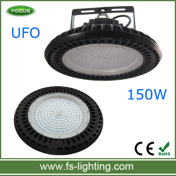 Mean well driver 5year guaranty led lamp UFO 150W led industrial high bay lights ufo high bay