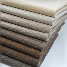 home upholstery fabric linen sofa fabric material linen woven knitted fabric wholesale price per meter chinese factory