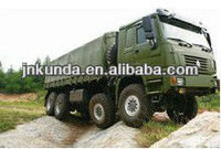 SINOTRUK HOWO 8x4 Cargo Truck with 371HP,31 ton load capacity/military vehicles for sale