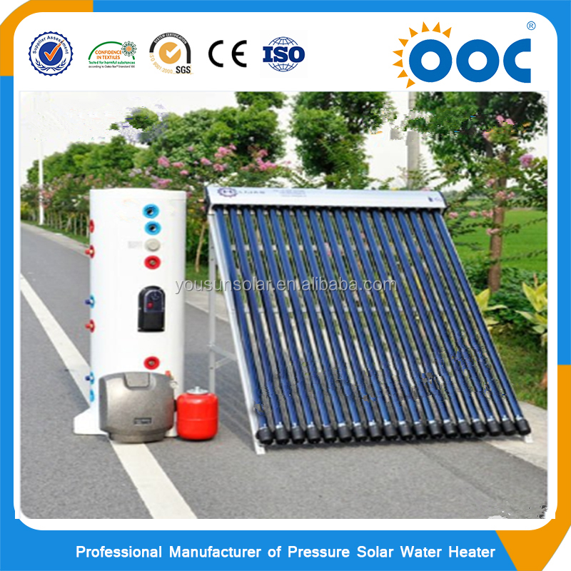 Factory supply swimming pool split pressresolar water heater system