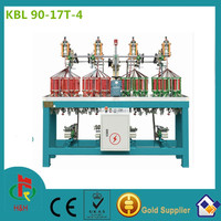 13 spindle high speed elastic cord and flat rope braiding machine used for apparel