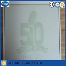 Custom Promotional Logo LED Lighting Glass