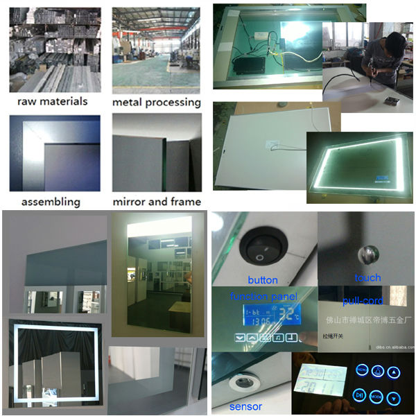 Popular bathroom smart hardware products series----LED infinity mirror