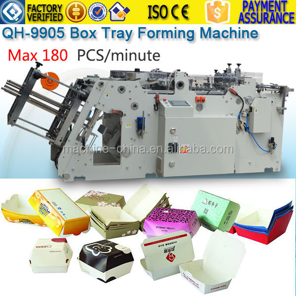 QH-9905 Quality Take Corrugated Cardboard Box Making Machine