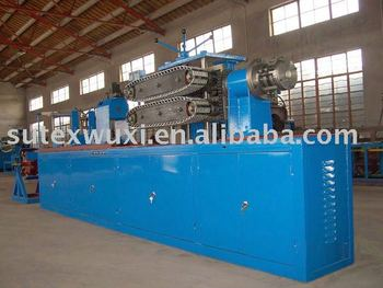 Corrugated stainless steel pipe making machinery