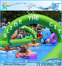 Giant inflatable slip and slide /1000ft inflatable water slide