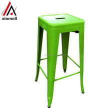 XM-TCD002 Wholesale cheap used metal bar stool high chair of bar furniture