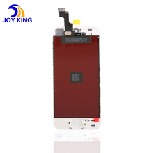 Free Shipping wholesale mobile phone lcd screen for apple iphone 5s lcd digitizer with flex cable/bezel/touch screen