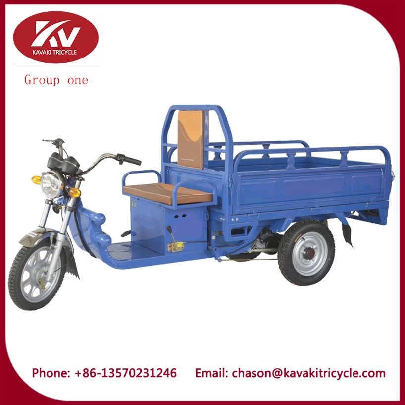Drum brake three wheel moped electric tricycle for cargo
