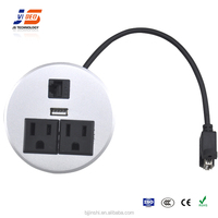JS-Z200 office table power supply unit outlet socket box
