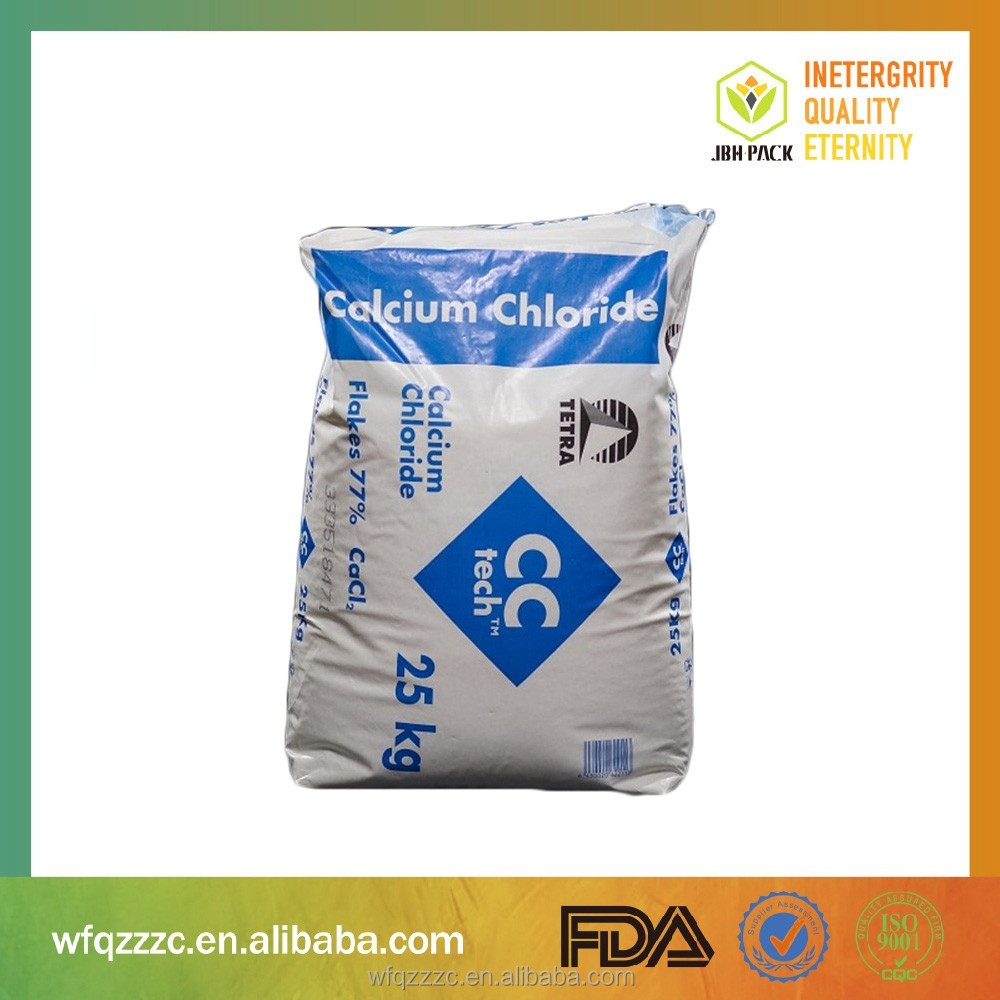 Alibaba China Supplier FFS Heavy Duty Bags For Packaging Chemical Granular Materials, Powders, Solid Materials