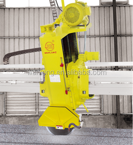 Chinese good manufacture Wanlong Rotating bridge Stone quarry cutter with laser guiding