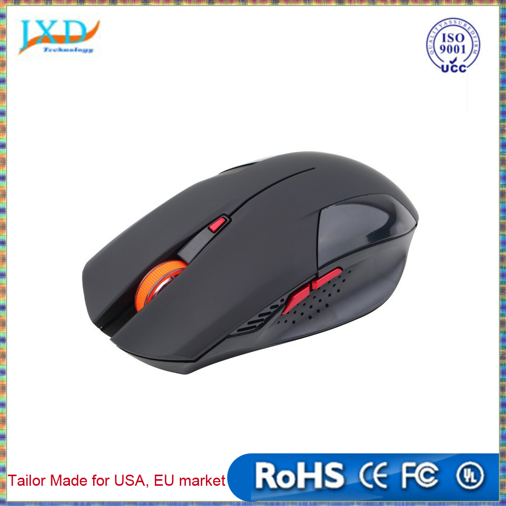 2400DPI Wireless mouse 6 Buttons USB Optical Gaming Mouse computer