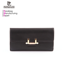 5164 Designer fashion custom ladies wallet pars hand set bag PU leather wallet for card holder