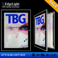 Edgelight online product selling websites edge-lit sign led light box with Long Lifespan