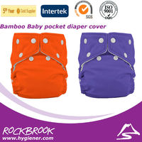 Top Quality Competitive Price Washable Bamboo Charcoal Inserts Diaper Wholesale from China