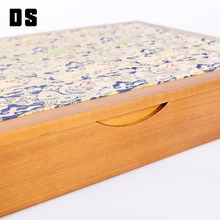 Amazing design luxury decoration raw wood craft box