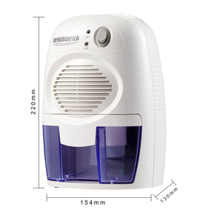 CE ROHS Peltier High quality Portable Dry Air Mini Home Dehumidifier at low price