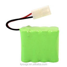 Wholesale 9.6V 1800mAh AA Ni-MH 8 Cell Rechargeable Replacement battery Pack with Tamiya Connector for RC Cars Boat, Robot,