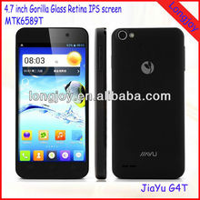 "Original Jiayu G4 smartphone MTK6589T Quad core 4.7"" IPS Gorilla glass screen"