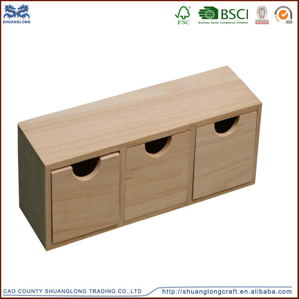 자연 미완성 나무 공예 상자, 책 모양의 나무 상자 침대 디자인 ...