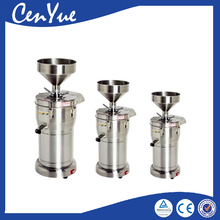 commercial stainless steel soya soy soybean milk maker grinder making machine