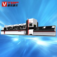 stainless steel square tube fiber laser cutting machine price