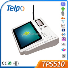Telepower TPS510 Point Of Sale with Fingerprint Counter Top Android POS Terminal Touch POS System with Finger Print