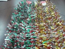 2013 China top 10 high quality Christmas balls gift outdoor tinsel garland