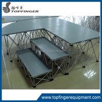Portable outdoor events and parties aluminum classical stage system
