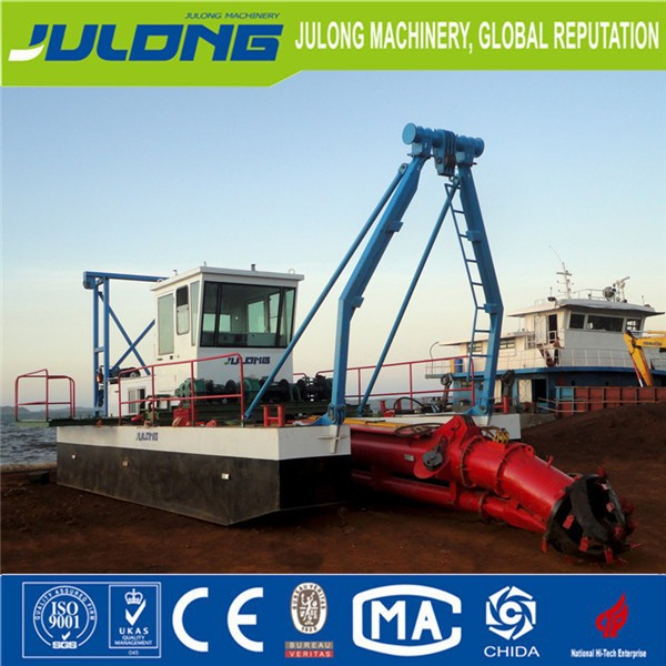 "6"" inches Low price river sand pump dredger, cutter suction dredger for sale"
