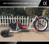 2016 Newest design high quality 196cc Petrol drift trike