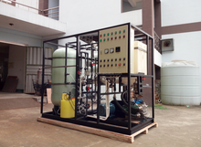 1000W 30 Tons Desalinator RO Membrane Ion Exchange Plant Sea Water Treatment Equipment