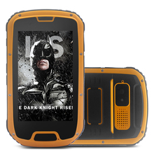 China phone S09 4.5inch durable outdoor dual sim 8.0mp camera 1GB+4GB rugged walkie talkie mobile phone
