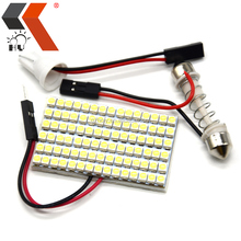 Auto Panel LED 90SMD 3528 LED Car Interior Dome Light Reading Light Bulbs Lamp