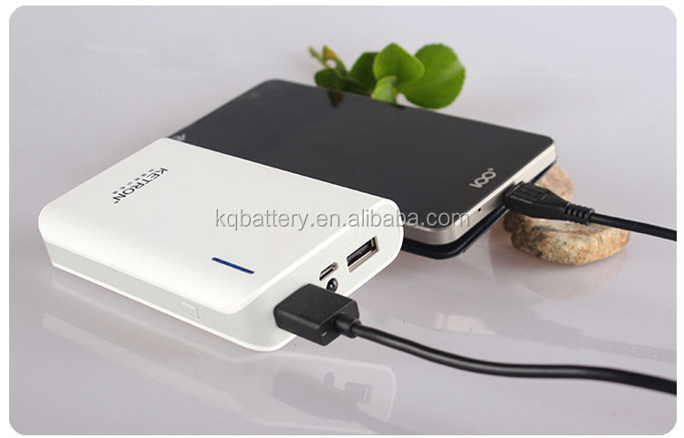 2014 new product dule output multifunction portable power bank 6600