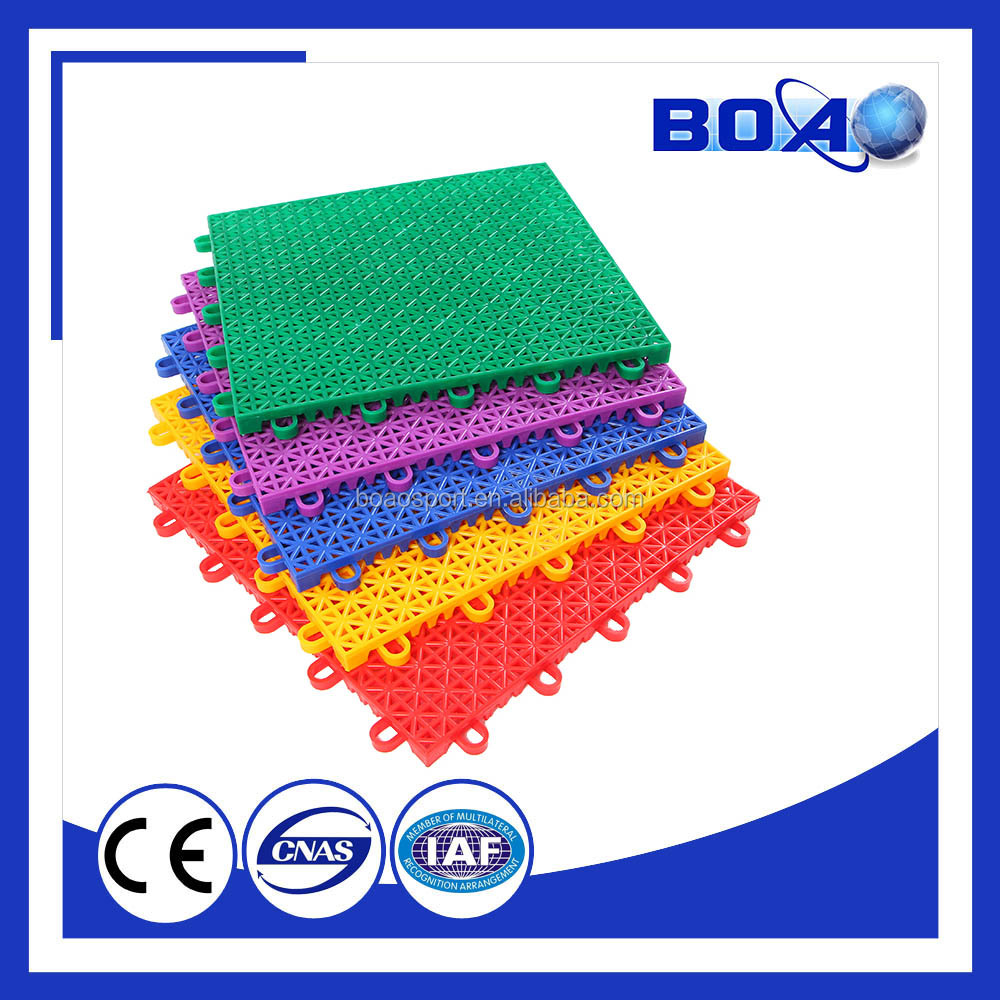 Hot Selling Interlocking Outdoor Sports Flooring Outdoor Futsal Court Floor