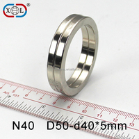 rare earth material N52 permanent neodymium ring magnet for phone holder