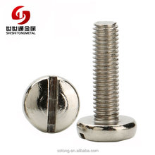 Slotted Cheese Head Machine Screw A4 Acidproof Stainless Steel DIN 84 din 920
