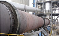 Refractory cement rotary kiln hot in Russia