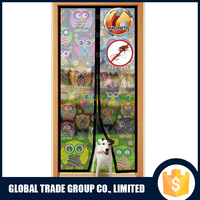 Magnetic Screen Door Premium Bug Free Velcro Frame Screen Mesh Curtains H0201