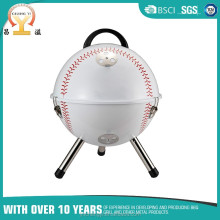 14 inch outdoor mobile chicken baking table round rotisserie bakery bbq grill