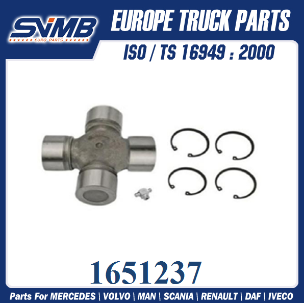 VOLVO truck parts Universal Joint 1651237 1068253