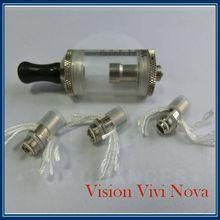 New Design Best Seller 3.5ml Clearomizer Vision Vivi Nova with Replaceable Coil Head